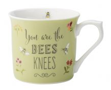 Bee Happy Green Mug